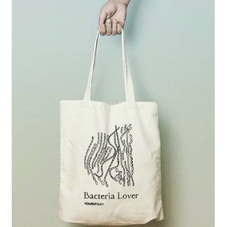 Bacteria Lover Kombutxa 100% cotton Tote Bag