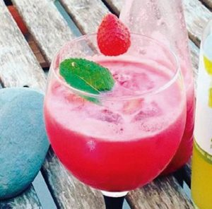 Red and Green Mocktail